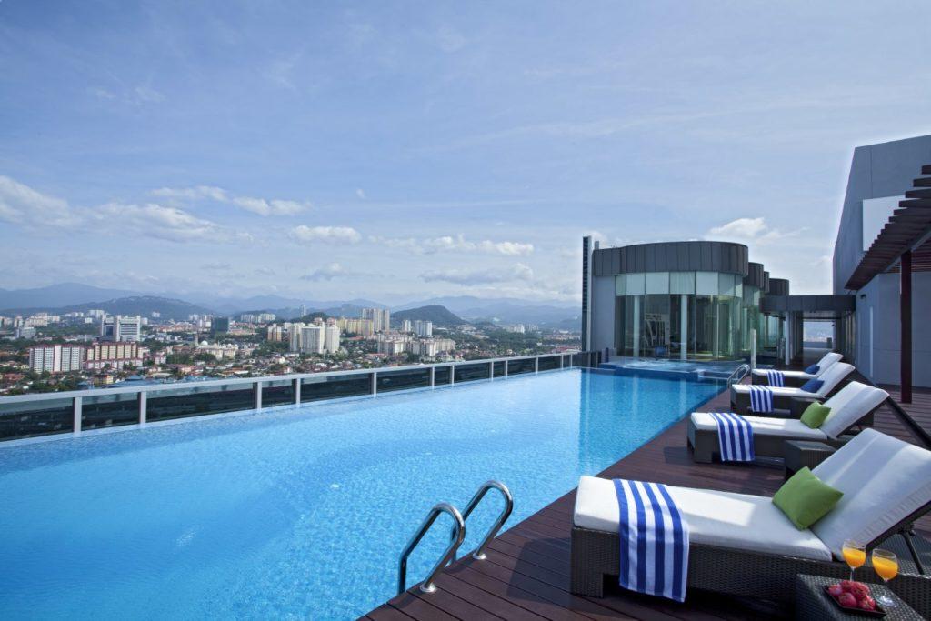 Somerset Ampang Kuala Lumpur infinity pool