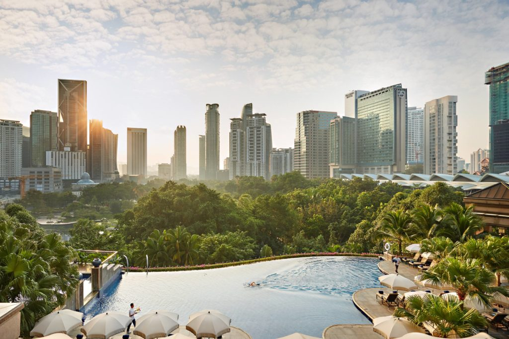 Mandarin Oriental Kuala Lumpur infinity pool